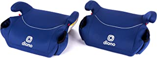 DiONO Solana of Backless Booster Car Seats, Blue, 2 Pack