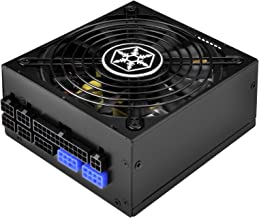 SilverStone Technology 800W SFX-L, 80 Plus Titanium 100% Modular Power Supply with Japanese Capacitors SX800-LTI-USA, SST-...
