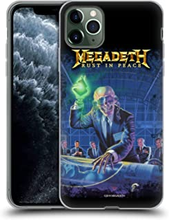 Official Megadeth Rust in Peace Album Cover Key Art Soft Gel Case Compatible for iPhone 11 Pro Max