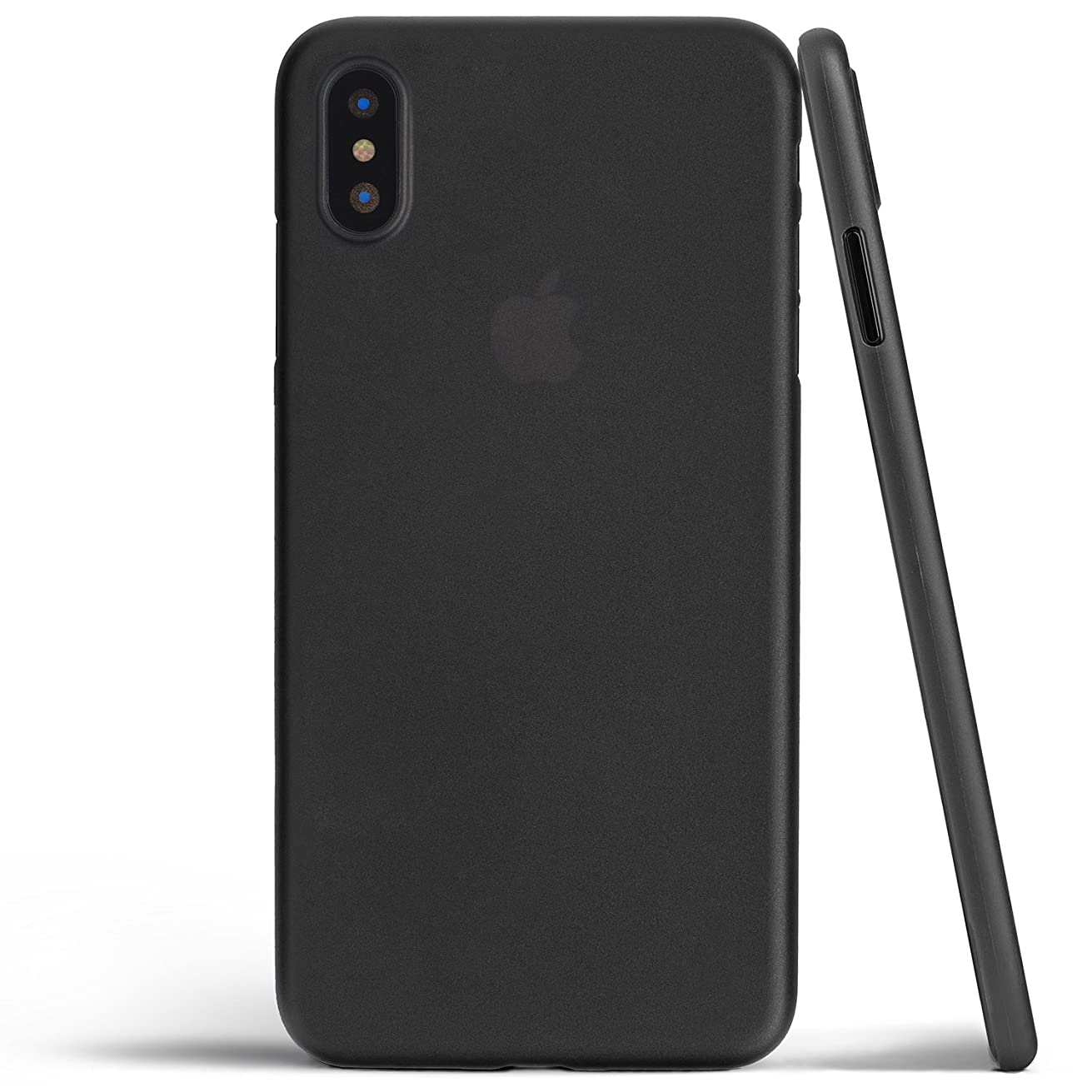 totallee iPhone X Case, Thinnest Cover Premium Ultra Thin Light Slim Minimal Anti-Scratch Protective - for Apple iPhone X (2017) (Matte Black)