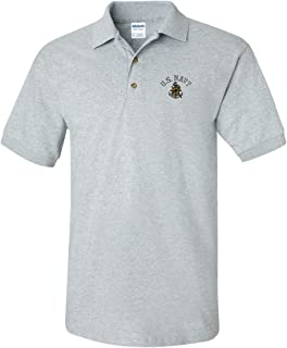 US Navy Custom Personalized Embroidery Embroidered Golf Polo Shirt