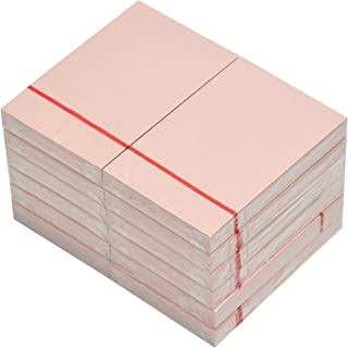 FIS Sticky Note Pads, Pastel Light Pink Colors, (100 Sheets x 12 Pieces), 3 x 2 Inch Size - FSPO32LPI