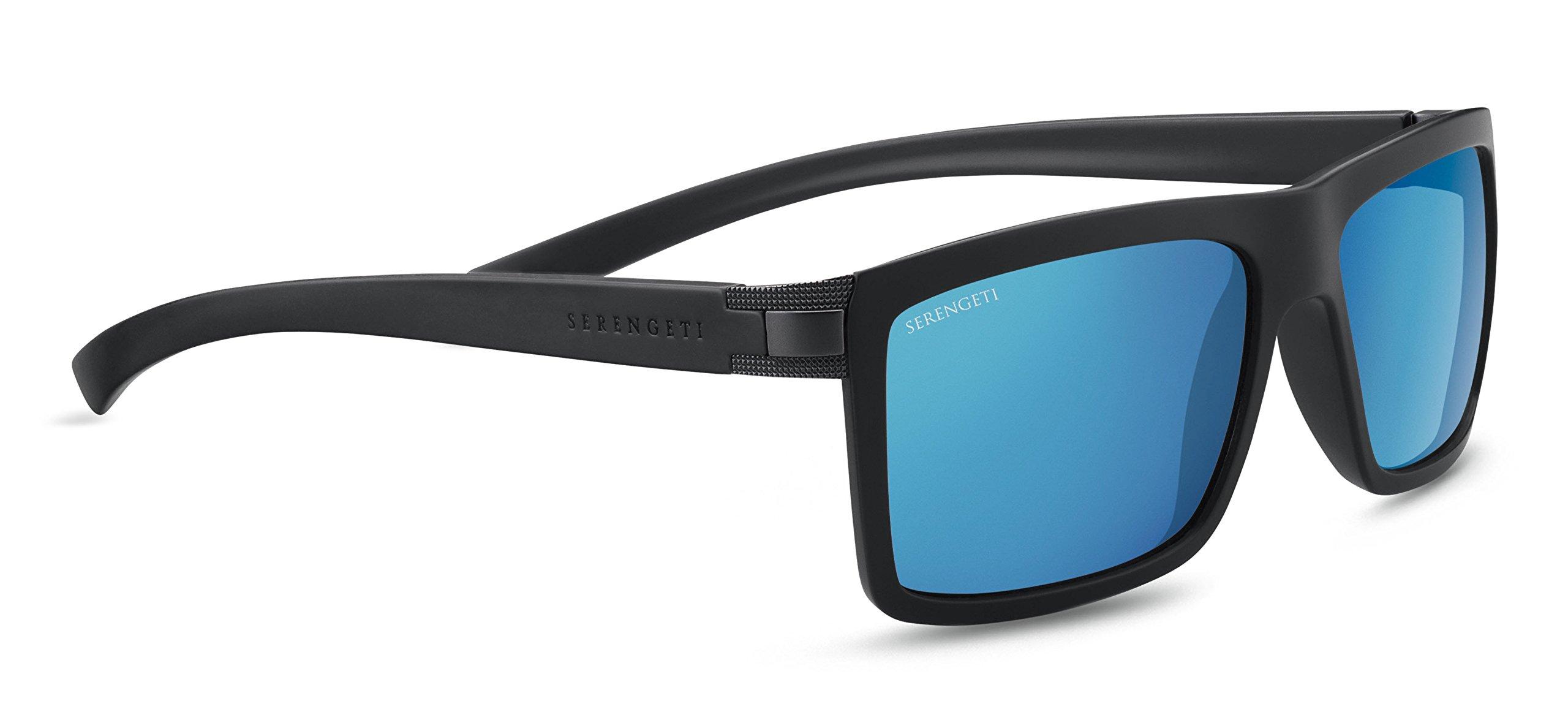 SERENGETI 8210 Gafas, Unisex Adulto, Negro (Sanded Black), M ...