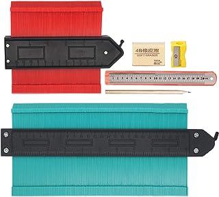 2 قطعه عرض سنج با قفل ، برش های حرفه ای برای اصلاح و کاشی ، 6 عدد جعبه ابزار DIY ، 10 اینچ سبز