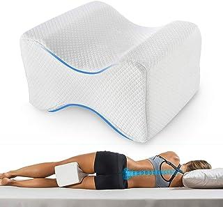 comprar comparacion Almohadas piernas para dormir, Cojín para almohada con de memoria para durmientes de lado, Almohada de apoyo para la rodilla