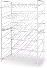 Simple Trending 2 Pack Can Rack Organizer, Stackable Can Storage Dispenser Holds up to 72 Cans for Kitchen Cabinet or Pant...