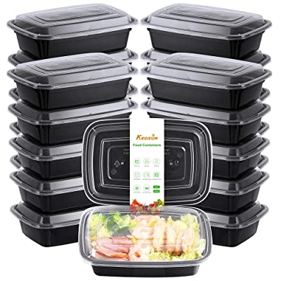 KEDSUM Meal Prep Containers [30 Pack] Single On...