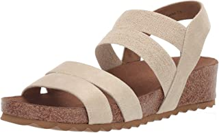 Yellow Box Women's Cerny Wedge Sandal Natural 6.5 M US