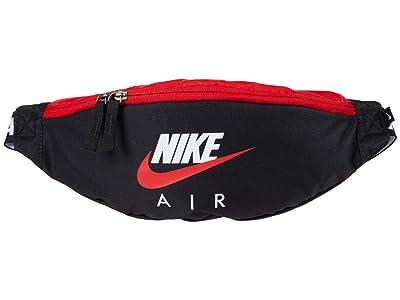 Nike Heritage Hip Pack Air Graphic (Black/University Red/University Red) Handbags
