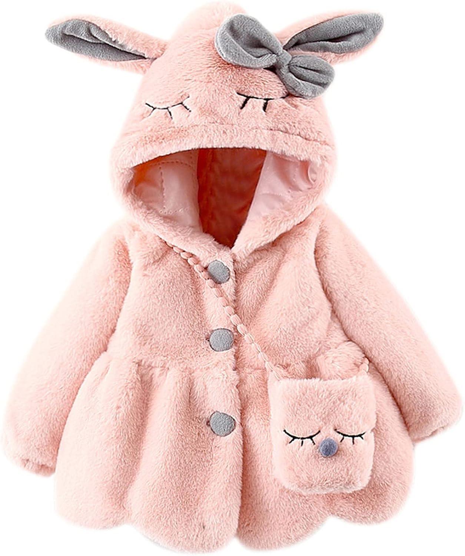 Sales for sale Taddler Baby Girls Winter Woolen Super Warm Hoodies Sheep Max 76% OFF Jacket