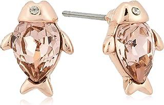 MESTIGE Brass Rose Gold Rose Gold Earrings - PMER1021