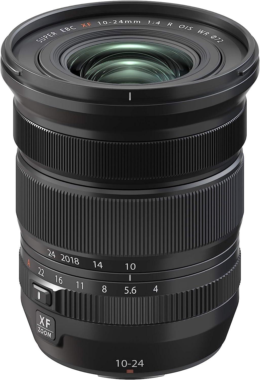 Fujifilm FUJINON XF10-24mmF4 R OIS WR Lens Black Electronics SLR ...