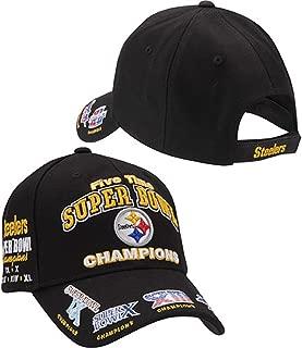 Pittsburgh Steelers Cap - 5 Time Super Bowl Champions Reebok NFL Hat
