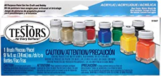 Best Testors Acrylic Value Finishing Paint Set - 9196T,Multicolor Reviews