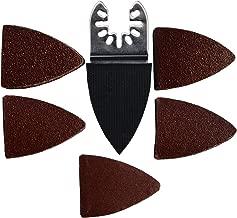82pcs Sanding Kit Oscillating Multi Tool Sand Pad for Bosch Stanley Multimaster Makita Dremel