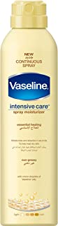 Vaseline Body Spray Essential Healing, 190 ml, Yellow, Pack of 1