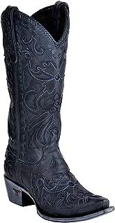 Women's Robin Navy Cowgirl Boot Snip Toe - Lb0237i