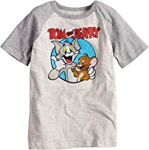 Jumping Beans Boys 4-10 Tom and Jerry Best Buds Raglan Graphic Tee