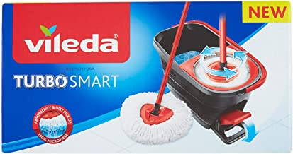 Vileda Turbo Smart Microfibre Spin Mop and Bucket Set
