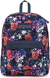 JanSport Superbreak Backpack - Morning Bloom - Classic, Ultralight