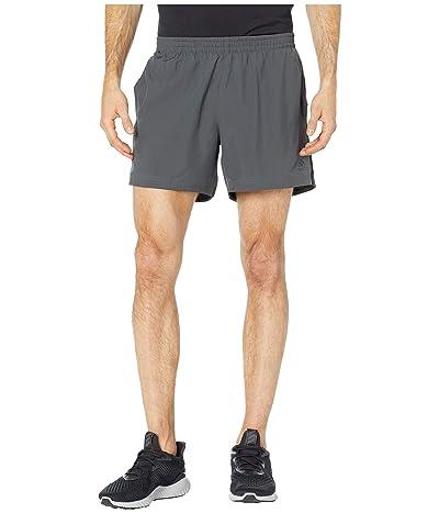adidas Response 5 Shorts (Grey Six/Black) Men
