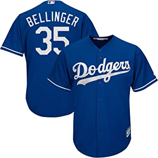 e65a8ed54 Majestic Cody Bellinger Los Angeles Dodgers MLB Youth Blue Alternate Cool  Base Replica Jersey