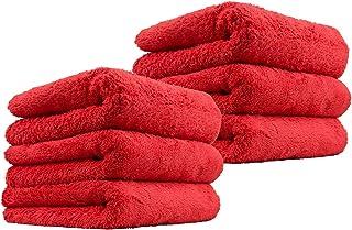 Edgless & Tagless Plush Microfiber Towels | Car Drying | Wash Detailing | Buffing Polishing | Towel with Plush Edgeless Mi...