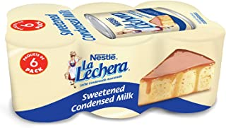 Nestle La Lechera Sweetened Condensed Milk, 14-ounce Cans (Pack of 6)