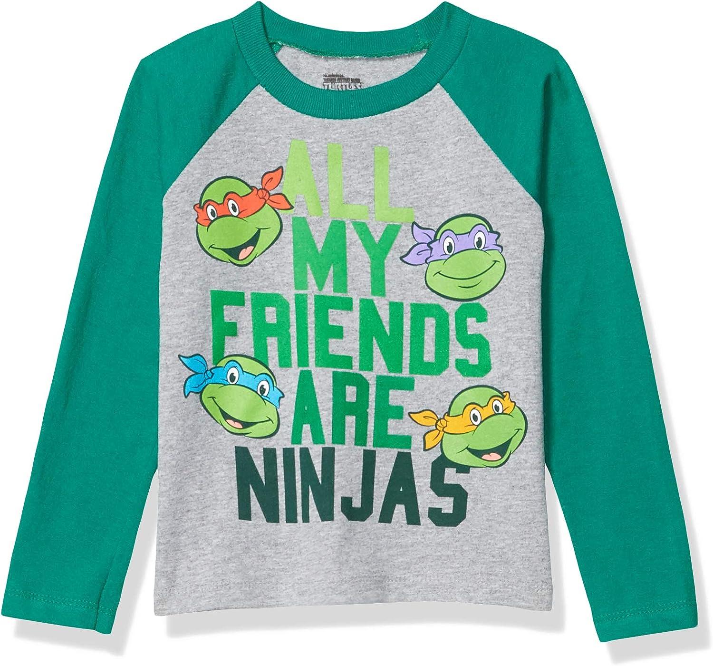 Nickelodeon Boys' Toddler Long Sleeve Tee