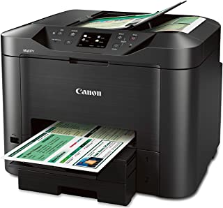 Canon MAXIFY MB5320 Wireless Office All-In-One Inkjet Printer with Mobile and Tablet Printing, and AirPrint and Google Cloud Print Compatible, Black
