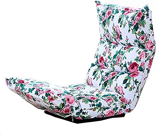 Faules Sofa Justierbarer Faltender Boden-Stuhl, Spielstuhl, Boden-Kissen, Multiangle-Couch-Betten Für Mittag Rest Fernsehen Spiel Nap (Kaffee) (Farbe   Style1)