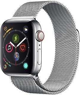 AppleWatch Series4(GPS+Cellularモデル)- 40mmステンレススチールケースとミラネーゼループ