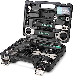 23 Piece Bike Tool Kit - Bicycle Repair Tool Box Compatible - Mountain/Road Bike Maintenance Tool...