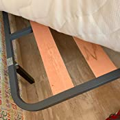Dormidán - Somier Somieres de Laminas, Fabricado en Tubo de Acero 30 x 30mm, Medida 80x200cm más Patas de 30cm de Alto