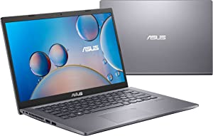"ASUS VivoBook 15 M515 Thin and Light Laptop, 15.6"" IPS FHD Display, Windows 10 Home with Free Upgrade to Windows 11, AMD Ryzen 7 5700U, 8GB RAM, 512GB SSD, Fingerprint Reader, Slate Grey, M515UA-EB72"