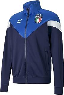 PUMA International Soccer mens Figc Iconic Mcs Track Jacket