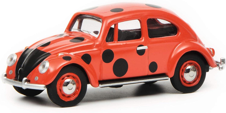 VW Beetle Schuco 45264 6500 1 St Track H0 Metal OVP