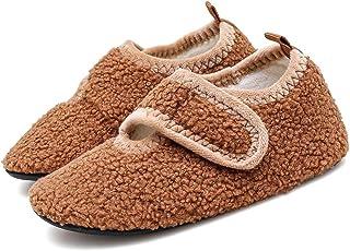 Inverno Pantofole da Casa Bambini Ragazzi Ragazze Caldo Comode Scarpe da Interno Antiscivolo Suola Morbida
