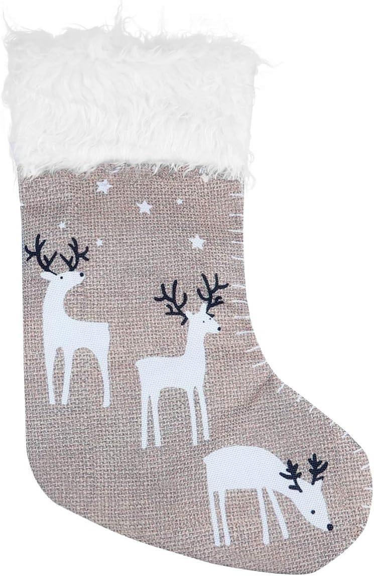 GARNECK Reindeer Christmas Stockings Finally popular brand Ornament Fir Tree Under blast sales