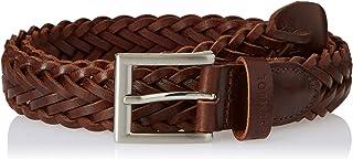 Amazon Brand - Symbol Men's leather Formal Hand Woven Belt