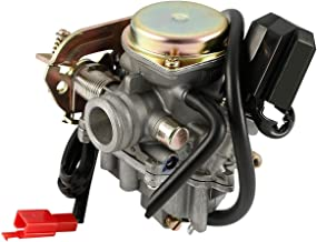 50cc GY6 Carburetor for 80cc 60cc 49cc Carb Quad Scooter Fits Most Chinese Scooter Moped ATV Taotao Kymco Qingqi Baja SUNL JCL