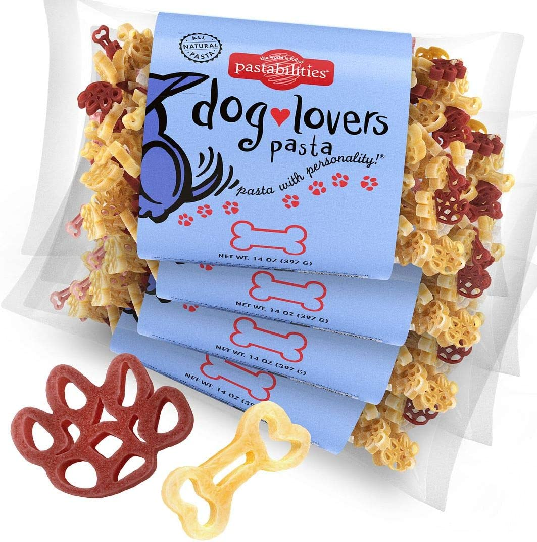 Pastabilities Dog Lovers Pasta, Fun Shaped Noodles for Kids, Non