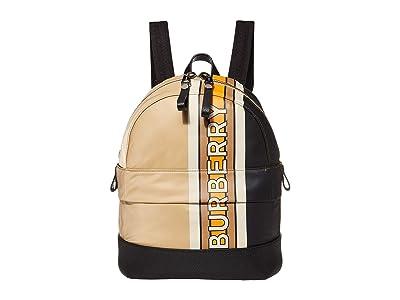 Burberry Kids Mini Nico Stripe (Archive Beige) Backpack Bags
