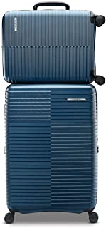 Samsonite Stack-IT 2 Piece Hardside Suitcase/Luggage Set Wheel Spinner (Blue)