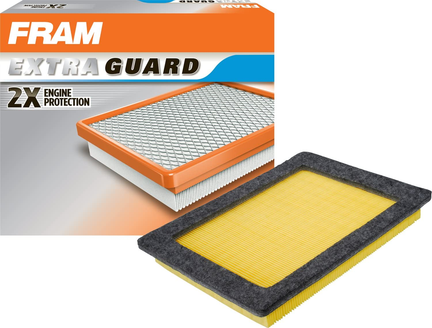 FRAM Extra Guard Air Filter, CA9687 for Select Ford and Lincoln