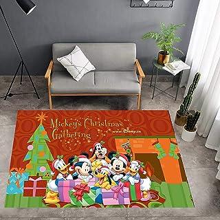 GOOCO Tapis Rectangle Lavable Chambre Tapis De Chevet Salon Table Basse Couverture Chambre Enfants Tapis De Jeu Style Nord...