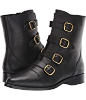 Leather Multi Buckle Troy Boot