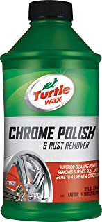 Turtle Wax Chrome Polish and Rust Remover with Superior Cleaning Power, Removes Surface Rust and Grime to a Like New Condi...