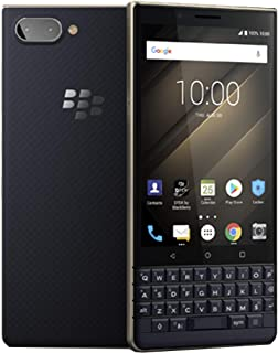 BlackBerry KEY2 LE (Lite) Dual-SIM (64GB, BBE100-4, QWERTY Keypad) (GSM Only, No CDMA) Factory Unlocked 4G Smartphone (Champagne/Gold) - International Version