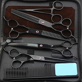Left Handed Pet Grooming Scissors Set Professional Hair Scissors Cut Hair Cutting Salon Scissor Barber Shears Hairdressing...